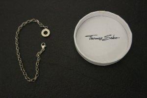 Thomas Sabo Bracciale charm argento-grigio