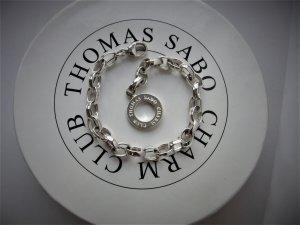 """Thomas Sabo"" CHARM-ARMBAND, ca. 16,5 cm lang (ohne den Ring gemessen), Stärke: ca. 0,5 cm"