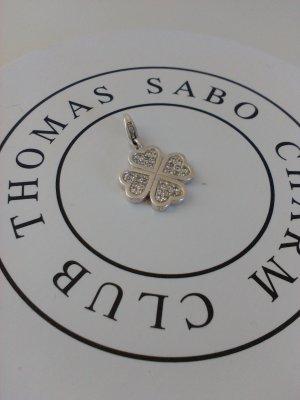 Thomas Sabo Ciondolo argento-bianco Argento