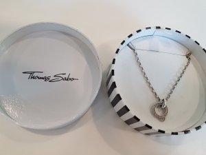 Thomas Sabo Charm Kette silber 35 cm lang