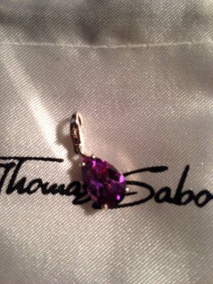 Thomas Sabo Charm lila Tropfen