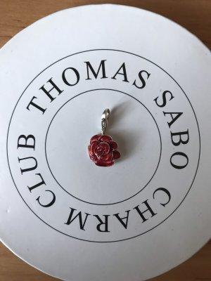 Thomas Sabo Colgante color plata-rojo