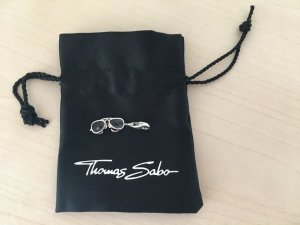 Thomas Sabo Dije color plata-negro