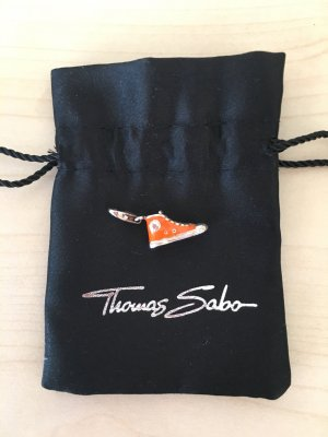 Thomas Sabo Dije color plata-naranja