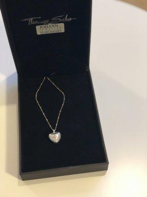 THOMAS SABO D_KE0035-356-14-L45v Halskette Herz-Medaillon Silber