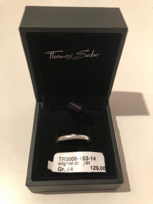 Thomas Sabo Silver Ring silver-colored metal