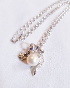 Thomas Sabo Zilveren ketting wit-zilver Zilver