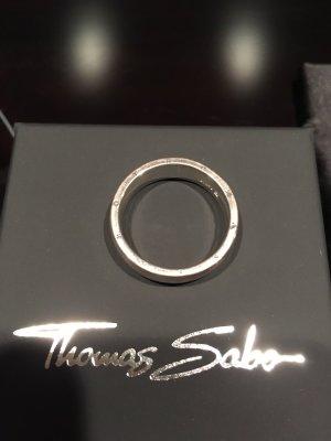 Thomas Sabo Bague en argent argenté argent