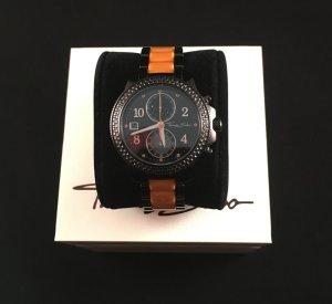 Thomas Sabo Orologio automatico nero-arancione Acciaio pregiato