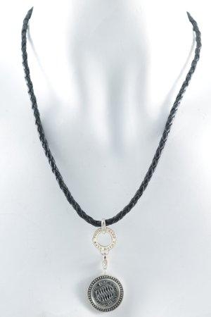 Thomas Sabo Halskette schwarz-silberfarben Elegant