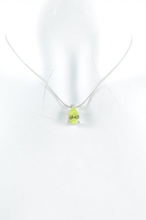 Thomas Sabo Halskette silberfarben-hellgrün Glanz-Optik