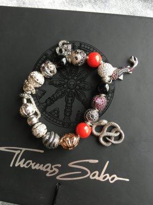 Thomas Sabo Karma Beads Armband mit 16 Orignal Thomas Sabo Anhängern!