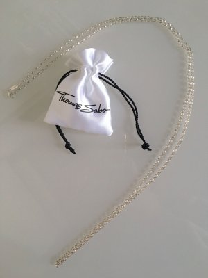 THOMAS SABO Kette Glam & Soul filigran silber 925 Sterling Silver 90 cm