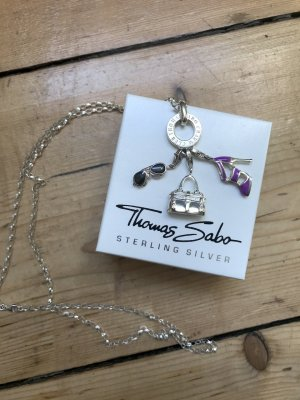 Thomas Sabo Catena d'argento multicolore