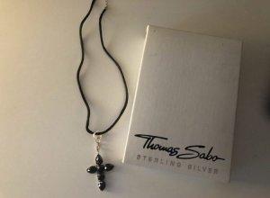 Thomas Sabo Kette mit Kreuzanhänger selten