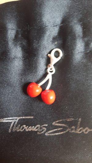 Thomas Sabo Pendentif rouge-gris clair argent