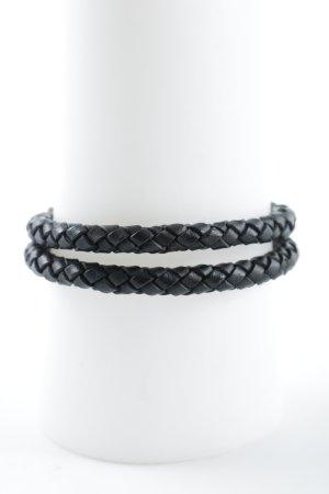 Thomas Sabo Lederarmschmuck schwarz schlichter Stil