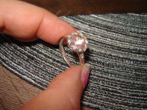 Thomas Sabo Anello d'argento argento-rosa pallido Argento