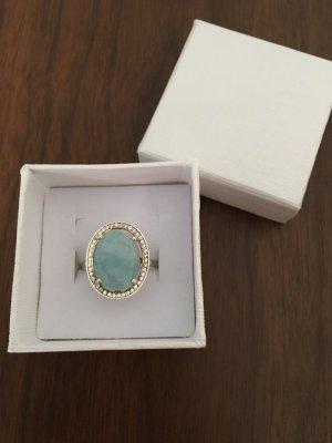 Thomas Sabo MILKY AQUA Maharani Ring 17mm - NP 198€