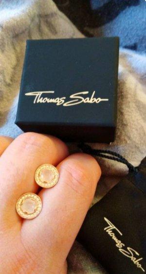 Thomas Sabo Ohrringe, 925 Silber Rosegold