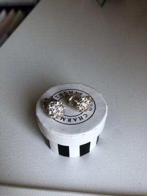 Thomas Sabo ohrstecker Ohrringe Silber Steine mit Box