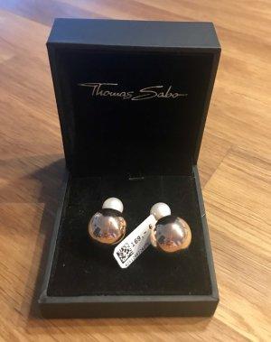 Thomas Sabo Ear stud rose-gold-coloured-cream