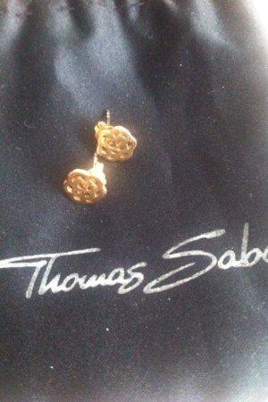 "Thomas Sabo ""Original""Ohrstecker in Blütenform, 925 Sterlingsilber Rosé"