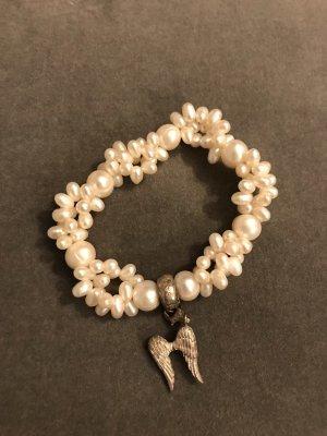 Thomas Sabo Pearl Bracelet white