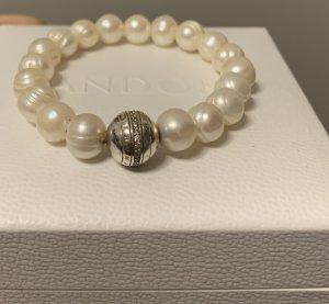 Thomas Sabo Bracciale di perle crema-bianco sporco