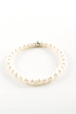 Thomas Sabo Bracelet en perles blanc cassé style décontracté