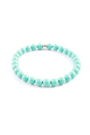 Thomas Sabo Bracelet en perles turquoise style décontracté