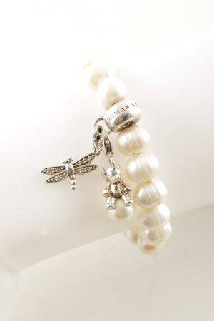 Thomas Sabo Bracciale di perle crema elegante