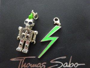 Thomas Sabo Pendente argento-verde neon Argento