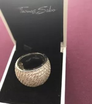 Thomas Sabo Anello d'argento argento