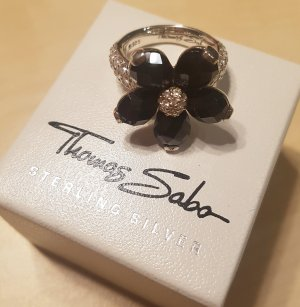 Thomas Sabo Anello d'argento multicolore