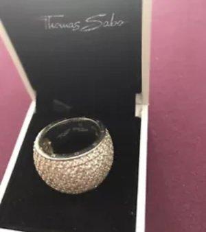 Thomas Sabo Silver Ring silver-colored