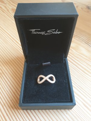Thomas Sabo Gold Ring multicolored real gold