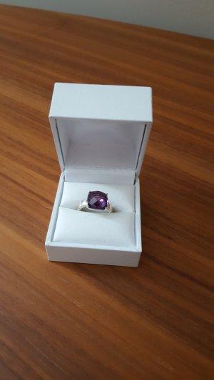 Thomas Sabo Ring aus 925er Silber * lila Stein