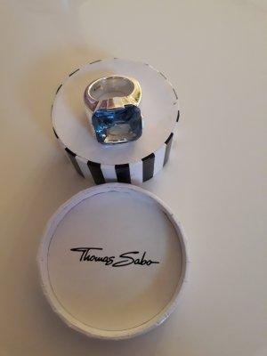 Thomas Sabo Ring Blau Original Gr. 52
