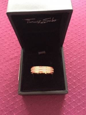 Thomas Sabo Ring pink