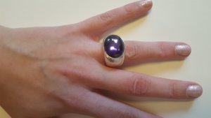 Thomas Sabo Ring mit lila Stein