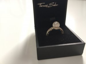Thomas Sabo Ring mit Perle