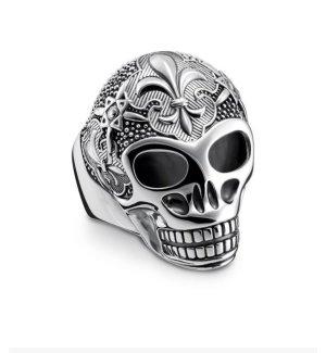 Thomas Sabo Anello d'argento argento-nero