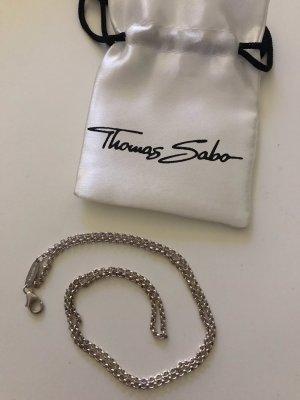 Thomas Sabo Necklace silver-colored real silver