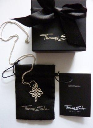 Thomas Sabo Silberkette keltischer Knoten Unendlichkeitssymbol Liebesknoten Kette