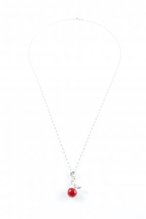 Thomas Sabo Silver Chain silver-colored-red elegant
