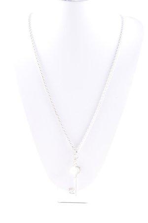 Thomas Sabo Catena d'argento argento-bianco con glitter