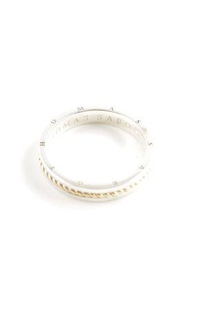 Thomas Sabo Zilveren ring zilver-goud casual uitstraling