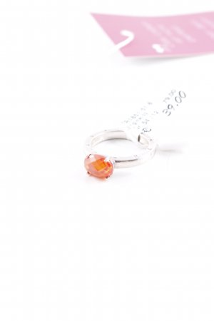Thomas Sabo Silberring orange-silberfarben Empire-Look