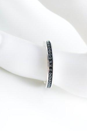 Thomas Sabo Silberring schwarz-silberfarben Elegant